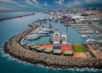 Waterfront Marina in Genoa